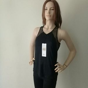 Alo Yoga CAGE TANK COOL COMFORT Black Color.